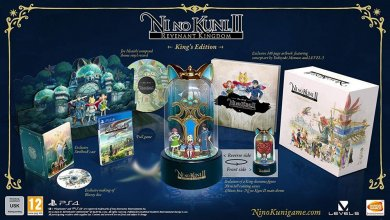 Ni No Kuni 2 Revenant Kingdom King's Edition PS4 Ver.