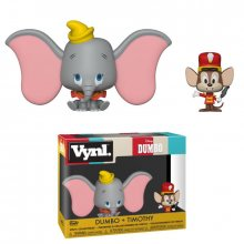 Dumbo VYNL Vinyl Figures 2-Pack Dumbo & Timothy 10 cm