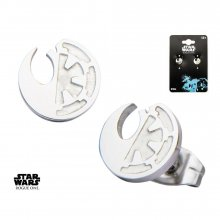 Star Wars Rogue One Earrings Rebel Alliance/Galactic Empire Symb