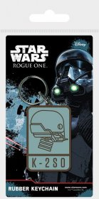 Star Wars Rogue One Rubber Keychain K-2SO 6 cm
