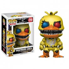 Five Nights at Freddys POP! figurka Nightmare Chica 9 cm