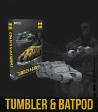 Batman Miniature Game Miniatures Batpod & Tumbler *English Versi
