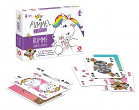 Chubby Unicorn Number 1 Playing Cards Set Rommé - Bridge - Canas