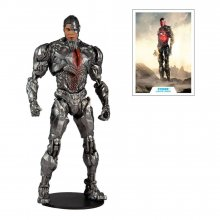 DC Justice League Movie Akční figurka Cyborg 18 cm
