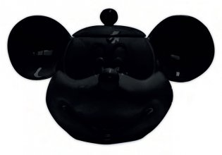 Mickey Mouse 3D Cookie Jar Black