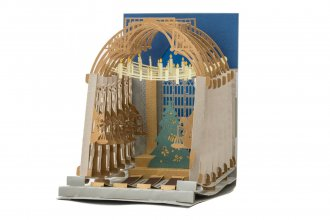 Harry Potter 3D Pop-Up Greeting Card Bradavice The Great Hall