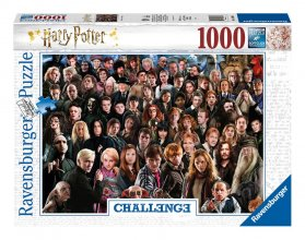 Harry Potter Challenge skládací puzzle Cast (1000 pieces)