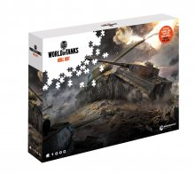 World of Tanks skládací puzzle East v West (1000 pieces)