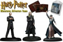 Harry Potter Miniatures 35 mm 3-pack Malfoy Family *English Vers