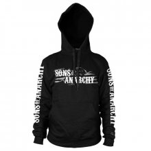 Sons of Anarchy hoodie mikina Flag Logo