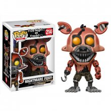 Five Nights at Freddys POP! figurka Nightmare Foxy 9 cm