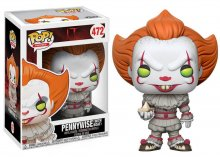 It POP! Movies Vinylová Figurka Pennywise (with Boat) 9 cm