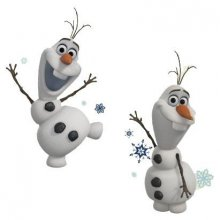 Frozen Wall Decor Olaf