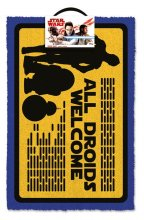 Star Wars Doormat All Droids Welcome 40 x 60 cm