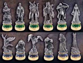 Lord of the Rings Chess Pieces The Two Towers Character Package