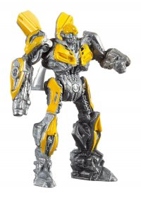 Transformers The Last Knight kovový model 1/64 Bumblebee Robot
