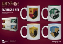 Harry Potter hrnky na espresso 4-Pack House Pride