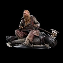 Lord of the Rings Socha Gimli The Dwarf On Uruk-Hai 43 11 cm