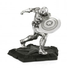 Marvel Pewter Collectible Socha Captain America First Avenger 1