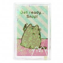 Pusheen Picture Frame Glitter Pusheen