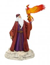 Harry Potter Socha Brumbál with Fawkes 30 cm