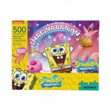 SpongeBob skládací puzzle Imaginaaation (500 pieces)