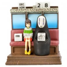Spirited Away Perpetual Calendar Unabara Train *English Version*