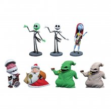 Nightmare Before Christmas D-Formz PVC Figures Series 2 Display