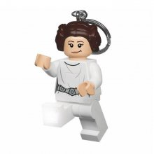 Lego Star Wars Mini-Flashlight with Keychains Princess Leia