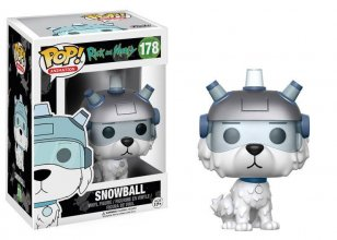 Rick and Morty POP! Animation Vinylová Figurka Snowball 9 cm