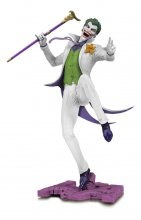 DC Core PVC Socha The Joker White Variant heo EU Exclusive 28 c