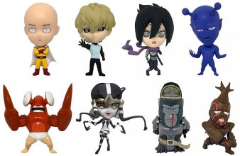 One Punch Man 16d Collectible Figure Collection PVC Figures 8-Pa