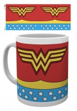 DC Comics Mug Wonder Woman Costume