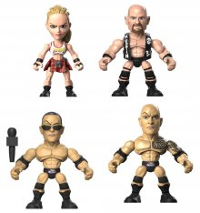 WWE Action Vinyls mini figurky 8 cm Display Wave 2 (12)