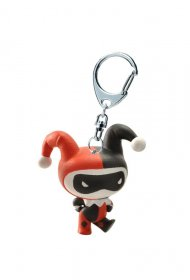 Justice League Mini Keychain Harley Quinn 8 cm