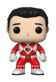 Power Rangers POP! TV Vinylová Figurka Red Ranger (No Helmet) 9