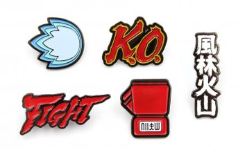 Street Fighter 5-Pack sada odznaků Icons