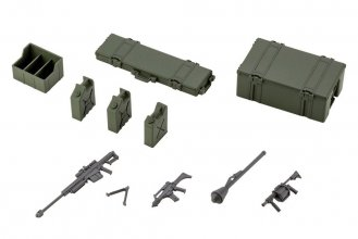 Hexa Gear plastový model kit 1/24 Army Container Set 8 cm