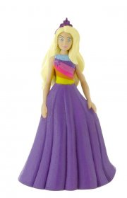 Barbie Dreamtopia mini figurka Barbie Fantasy Purple Dress 10 cm