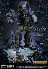 Batman Arkham Origins Socha Mr. Freeze & Mr. Freeze Exclusive 8
