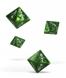 Oakie Doakie Dice D8 Dice 18 mm Goyf Marble - Green (4)