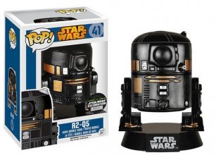 Star Wars POP! Vinyl Bobble-Head R2-Q5 Convention Special 10 cm