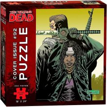 Walking Dead Puzzle Cover Issue 92