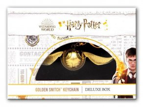 Harry Potter Přívěsek na klíče Golden Snitch Deluxe Box 12 cm
