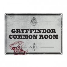 Harry Potter Tin Sign Common Room 21 x 15 cm