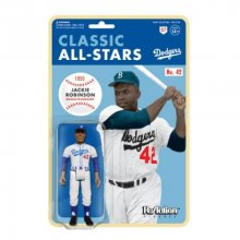 MLB Classic ReAction Akční figurka Jackie Robinson (Brooklyn Dod