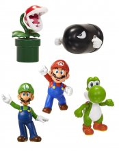 Super Mario World of Nintendo Vinyl Figures 5-Pack 6 cm Classic