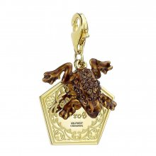 Harry Potter x Swarovski Charm Chocolate Frog (gold plated)
