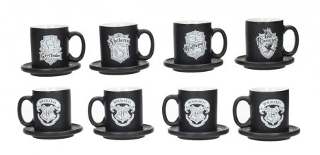 Harry Potter Espresso Hrneks 4-Pack Emblems