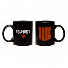 Call of Duty Black Ops 4 Hrnek Logo Black